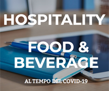 Food and beverage al tempo del COVID19